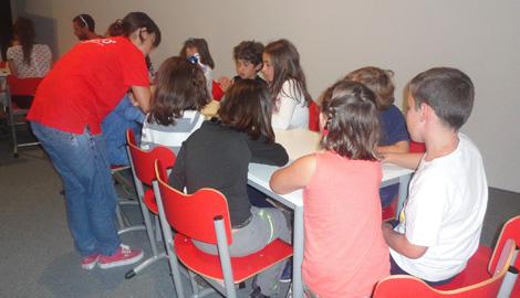 Asturias con niños: Taller Prehistograbados con origen paleolítico